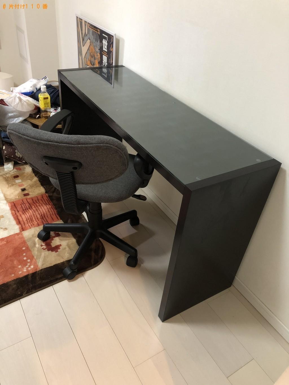 【大阪市東成区】デスク、椅子、ベッド枠の処分ご依頼 お客様の声