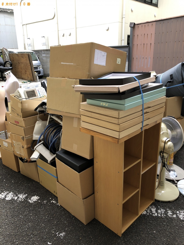 【京都市上京区】2tトラック1台程度の出張不用品回収・処分ご依頼