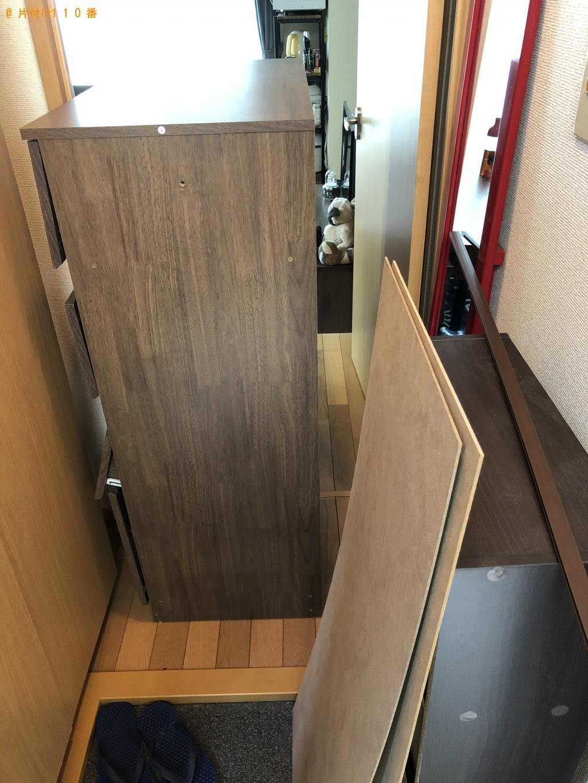 【京都市右京区】タンス・本棚の処分 お客様の声