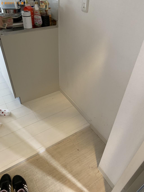 【京都市伏見区】カーペット・カラーボックスの処分 お客様の声