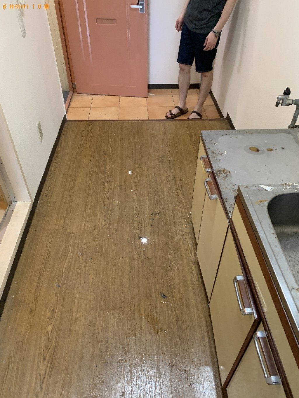 【京都市下京区】軽トラック1台分の家財道具の回収・処分 お客様の声