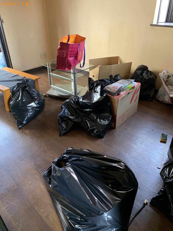 【北九州市小倉北区】テーブル、衣類、ハンガーラックなどの出張不用品回収・処分ご依頼
