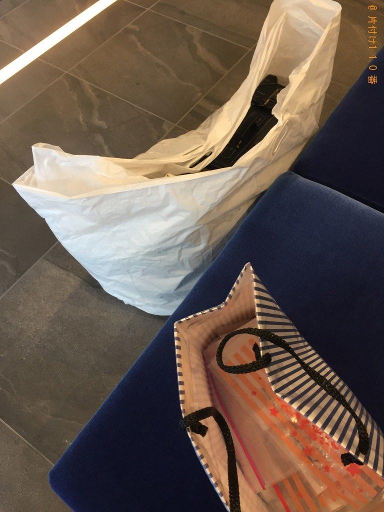 【福岡市博多区】カバンや家庭ゴミ回収のご依頼 お客様の声