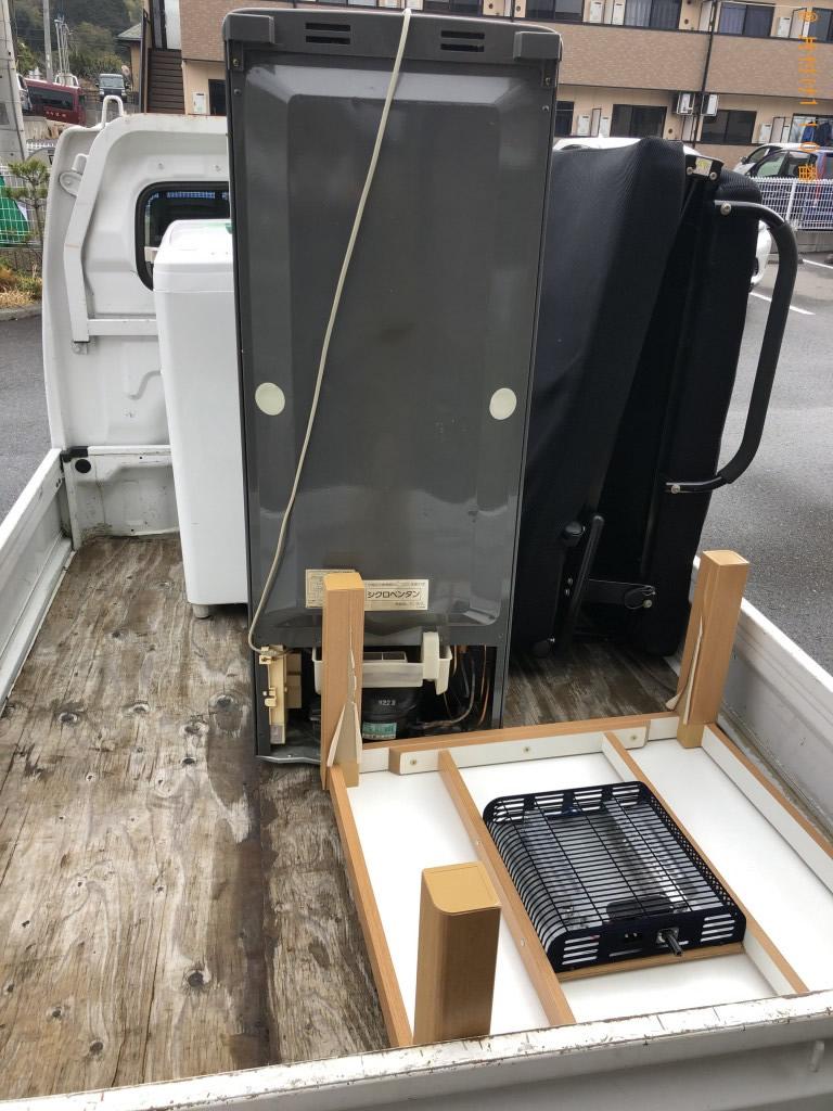 【甲賀市水口町】冷蔵庫、こたつなどの出張不用品回収・処分ご依頼