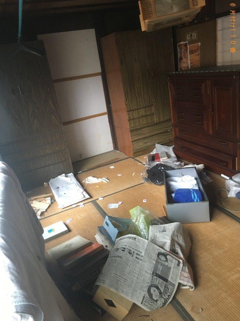 【京都市東山区】遺品整理のご依頼 お客様の声