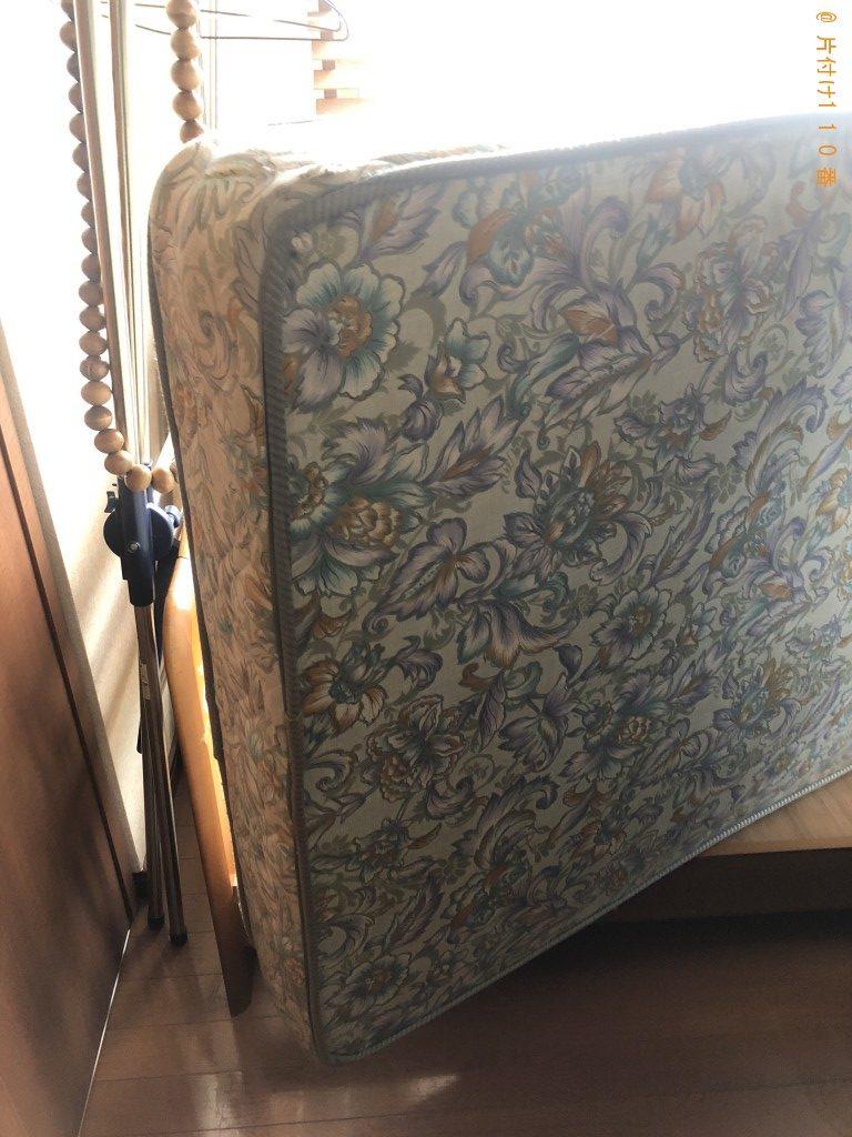 【北九州市小倉北区】シングルベッド回収のご依頼 お客様の声