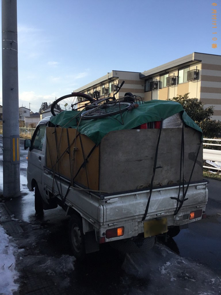 【一関市】軽トラック1台程度の不用品処分ご依頼 お客様の声