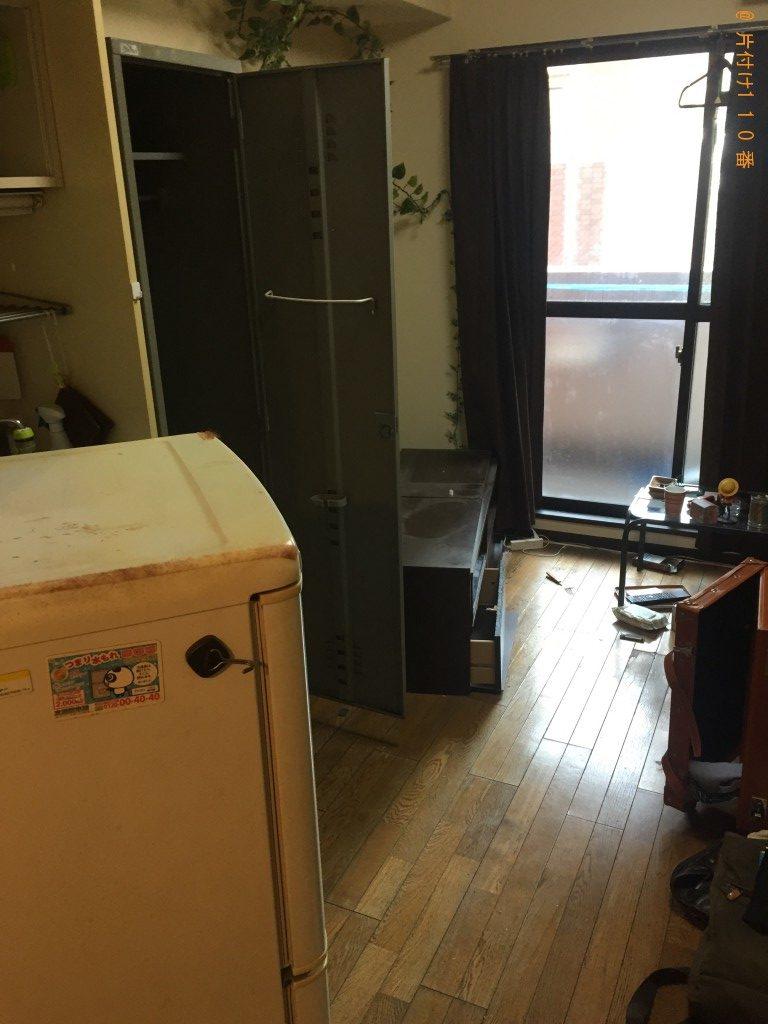 【福岡市中央区】冷蔵庫やロッカーなど家具家電回収 お客様の声
