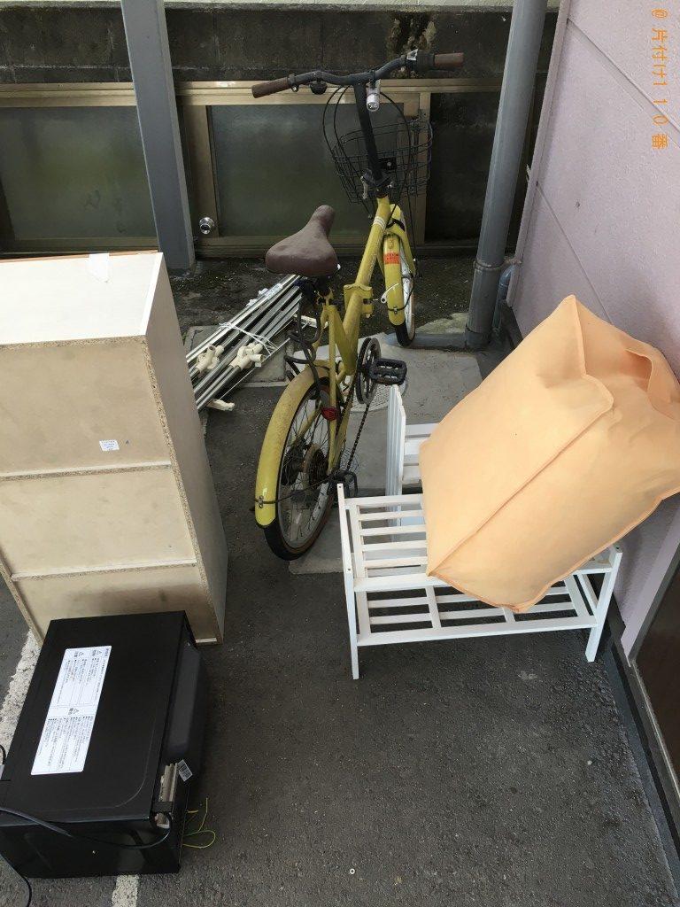 【小林市】自転車、整理タンス、物干しざお等の回収・処分 お客様の声