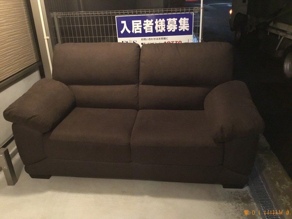 【大阪市東住吉区】ソファー1点の回収・処分 お客様の声
