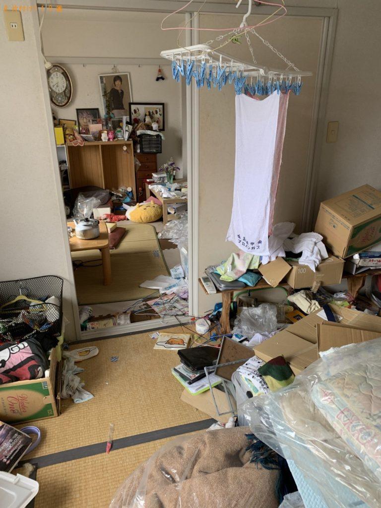 【宮崎市】2t1台分の出張不用品回収・処分ご依頼 お客様の声