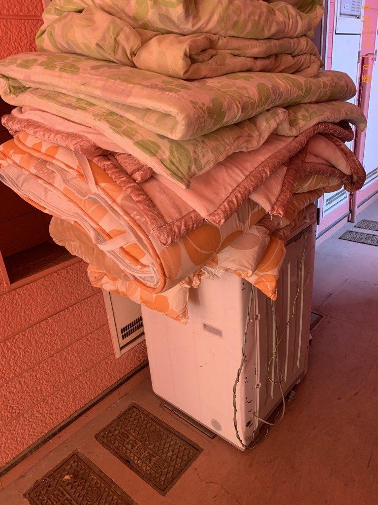 【北九州市八幡西区】ベッドや洗濯機など回収のご依頼 お客様の声