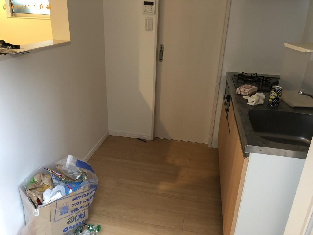 【上天草市】冷蔵庫、テレビ台などの出張不用品回収・処分ご依頼