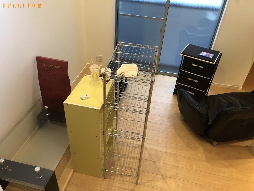 【熊本市中央区】冷蔵庫、テレビ台などの出張不用品回収・処分ご依頼
