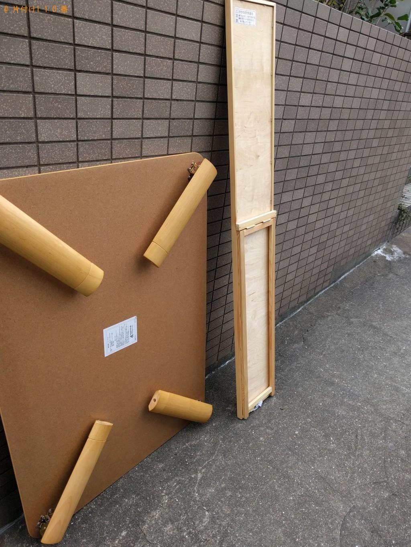 【北九州市小倉南区】姿見とローテーブル回収のご依頼 お客様の声