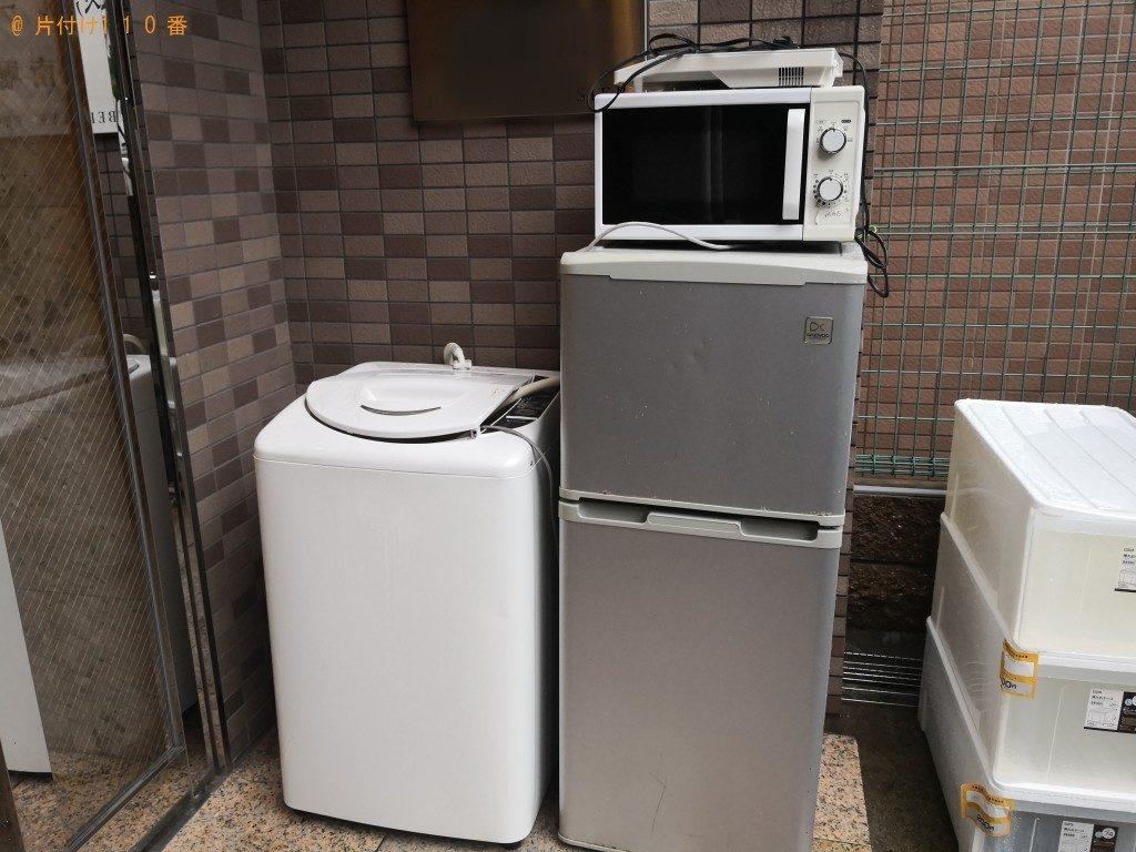 【大阪市西区】一人暮らしの引越しにともなう不用品回収・処分ご依頼 お客様の声
