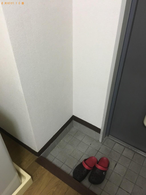 【北九州市小倉南区】姿見、物干しざお、タオル掛け回収 お客様の声