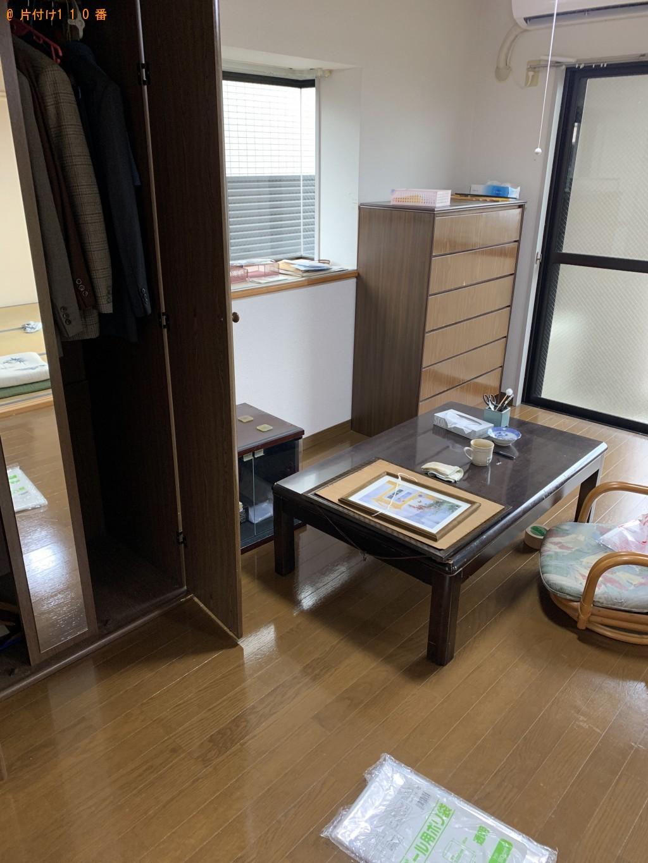 【宮崎市】仏壇を含め家財道具一式の回収・処分ご依頼 お客様の声