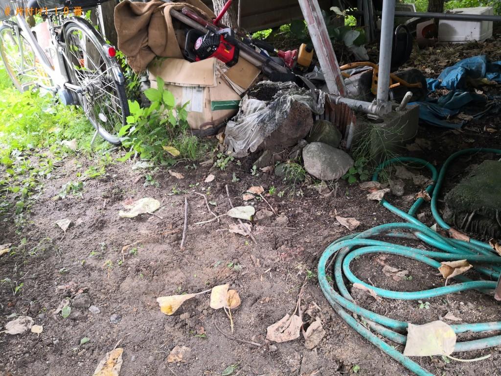 【東大阪市岩田町】草刈り機と耕運機の回収・処分 お客様の声