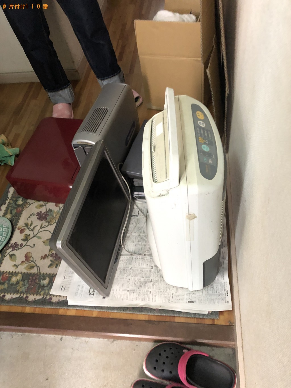 【下関市丸山町】CRTモニタ・プリンター・加湿器の処分 お客様の声
