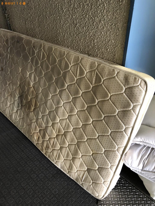 【京都市山科区】シングルベッドマットレスと布団の処分 お客様の声