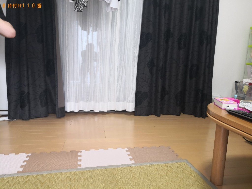 【奈良市】3人掛けソファーの出張不用品回収・処分ご依頼