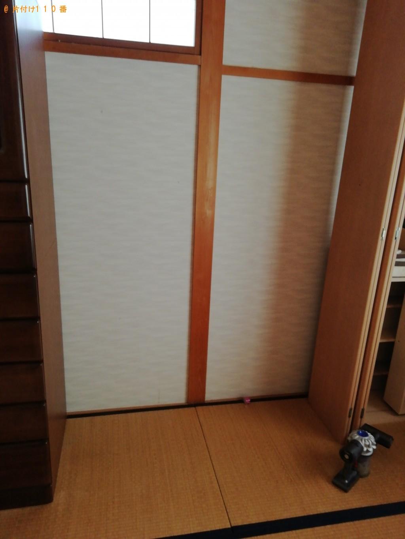 【京都市北区】婚礼ダンスの出張不用品回収・処分ご依頼