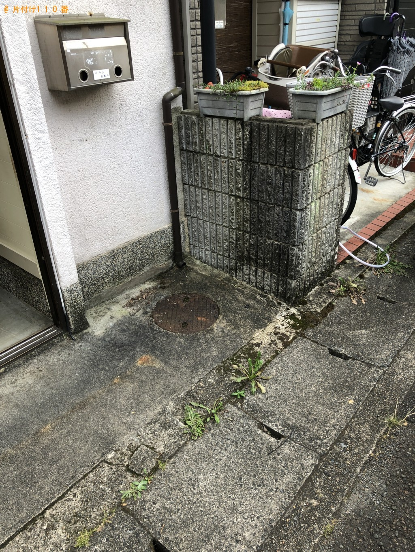 【京都市左京区】軽トラ1台分程度の出張不用品回収・処分ご依頼