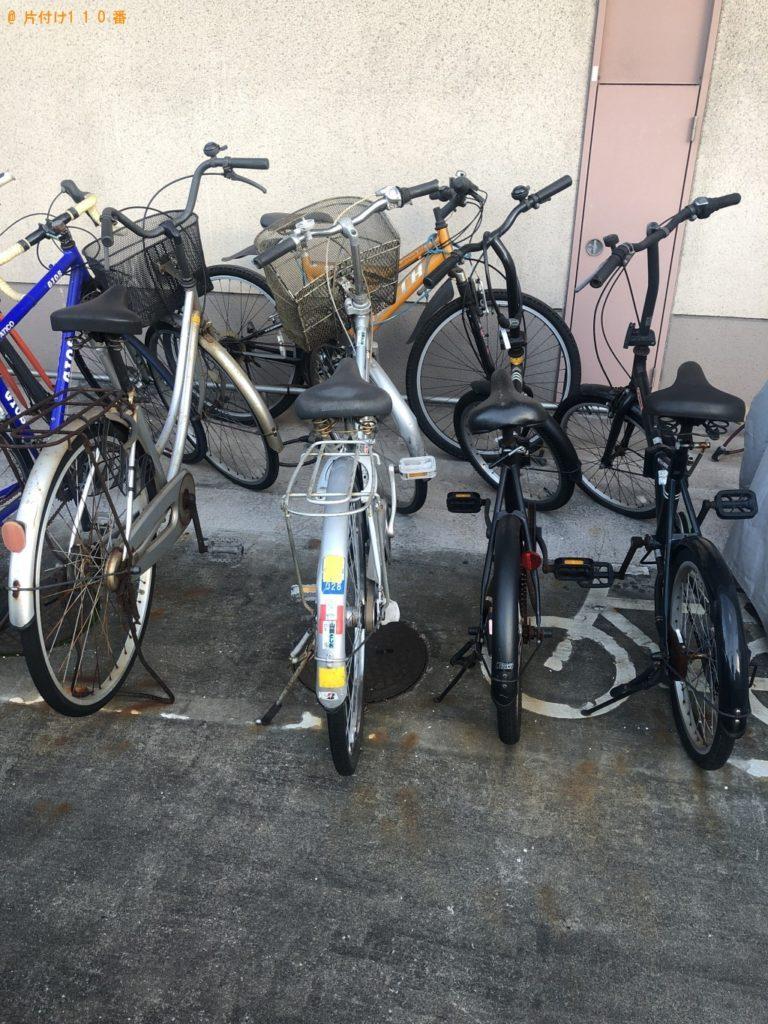 【大分市高城西町】自転車の出張不用品回収・処分ご依頼 お客様の声
