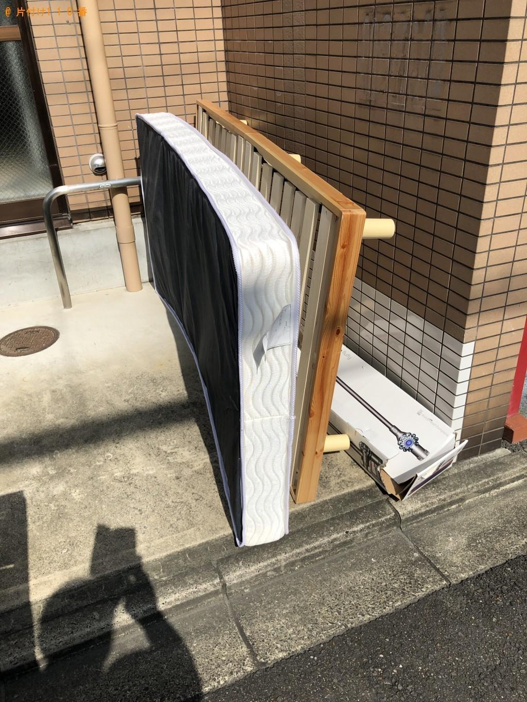 【京都市東山区】シングルベッドの出張不用品回収・処分ご依頼