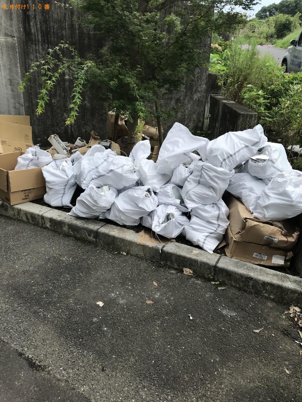 【宮崎市古城町】照明と家庭ゴミの回収・処分 お客様の声