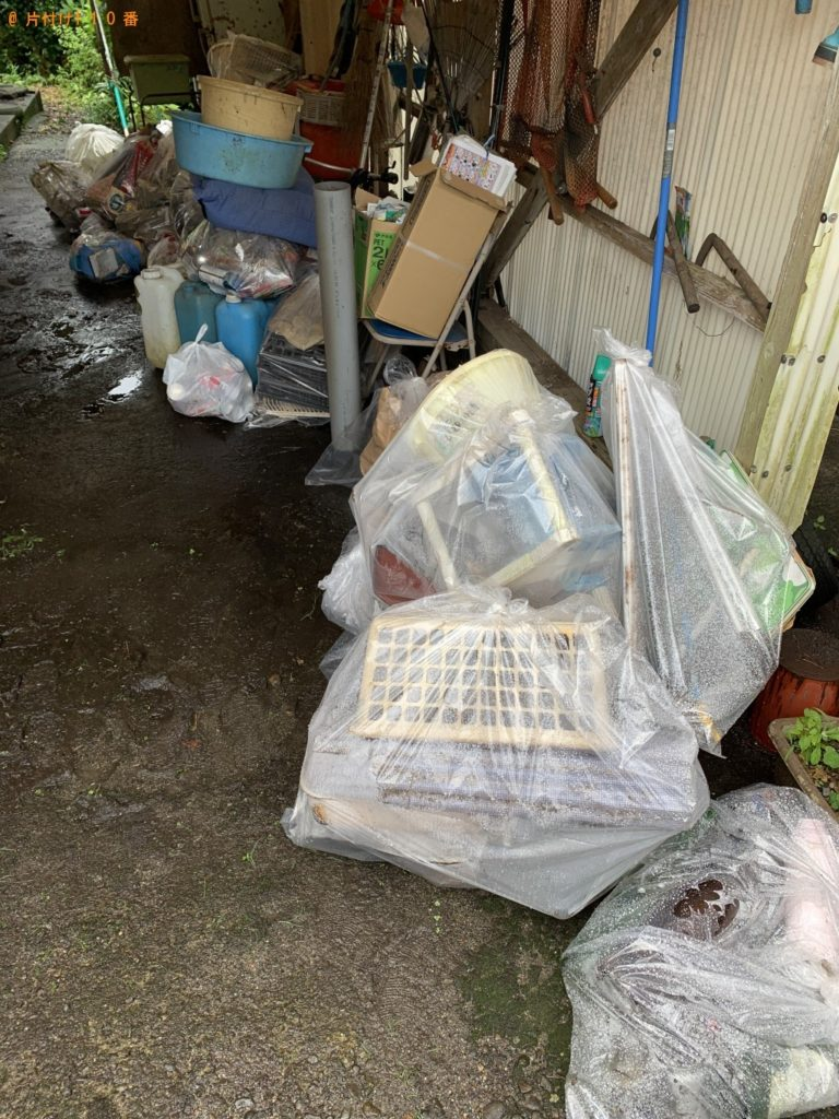 【高鍋町】たらい、ポリタンク、家庭ごみの回収・処分 お客様の声