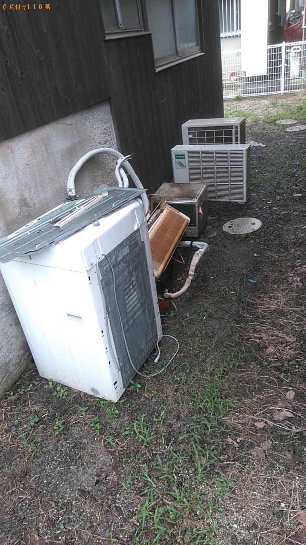 【松山市】テレビ、洗濯機などの出張不用品回収・処分ご依頼
