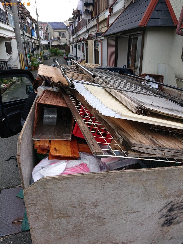 【枚方市】軽トラック1台程度の出張不用品回収・処分ご依頼