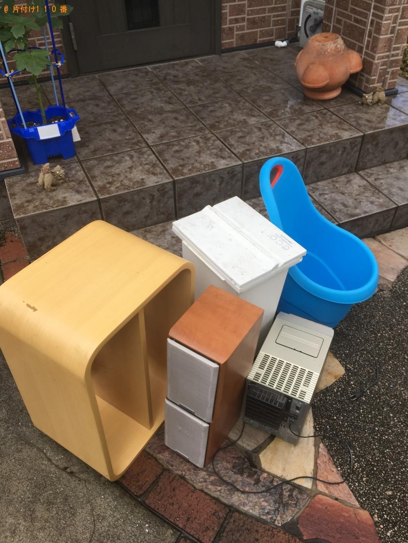 【北九州市八幡東区】枝木、ゴミ箱、コンポなどの出張不用品回収・処分ご依頼
