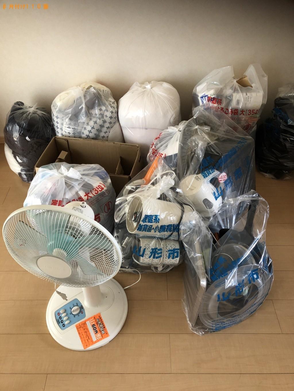 【山形市双葉町】掃除機、扇風機、家庭ごみの回収・処分 お客様の声