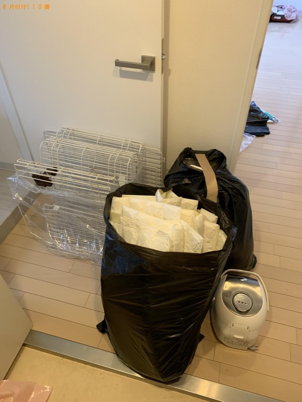 【京都市東山区】炊飯器、ペット用品、壁紙の回収・処分 お客様の声