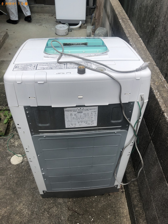 【岡垣町】洗濯機の回収・処分 お客様の声