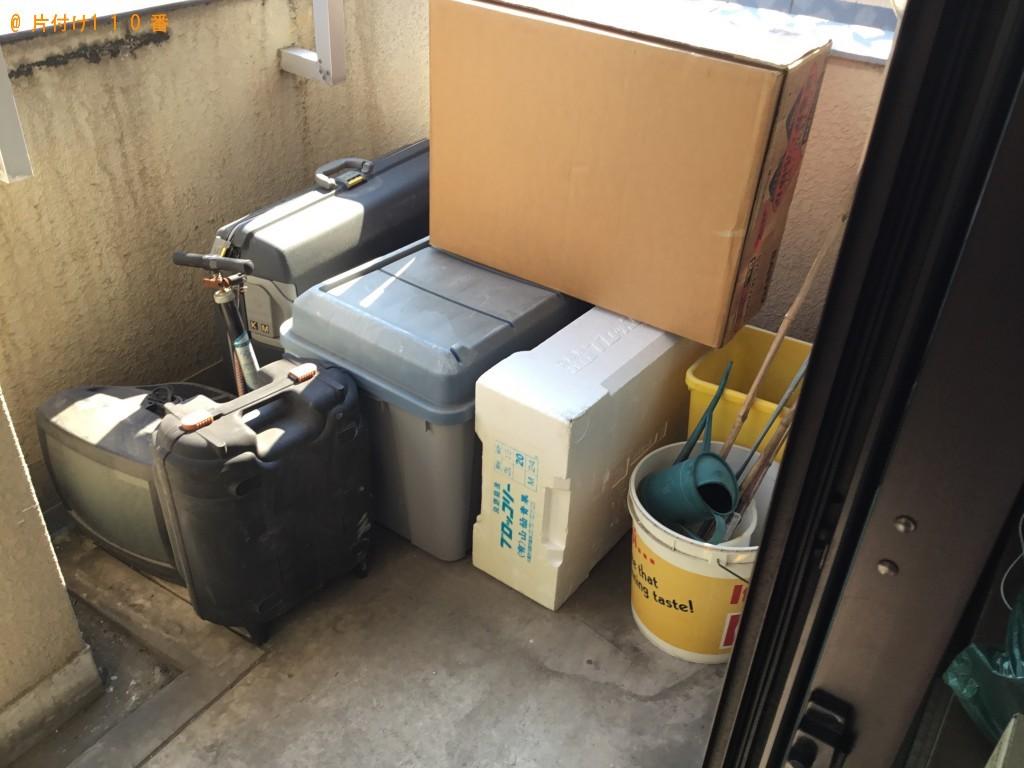 【尼崎市立花町】テレビ、扇風機、ゴミ箱などの出張不用品回収・処分ご依頼