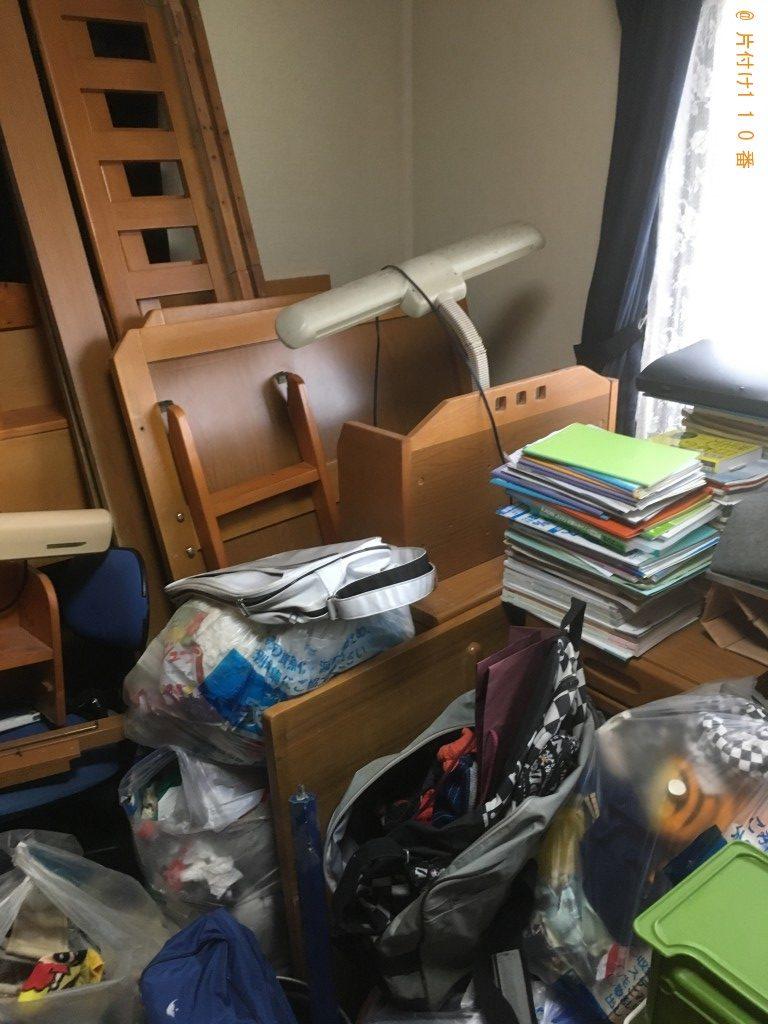 【北九州市八幡西区】ベッドや机など家具回収のご依頼 お客様の声