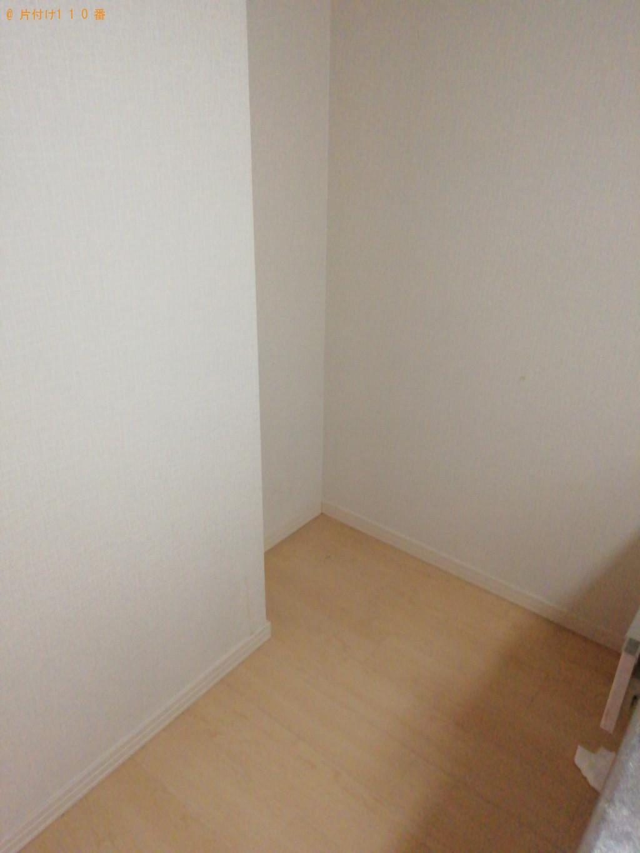 【京都市下京区】冷蔵庫、テレビ、折り畳みベッド等の回収・処分 お客様の声