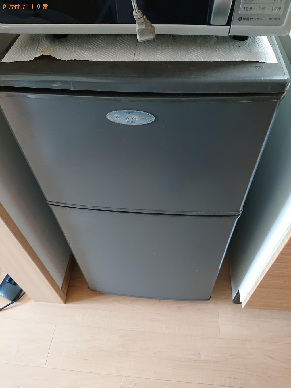 【堺市堺区】冷蔵庫、洗濯機、衣装ケースなどの出張不用品回収・処分ご依頼