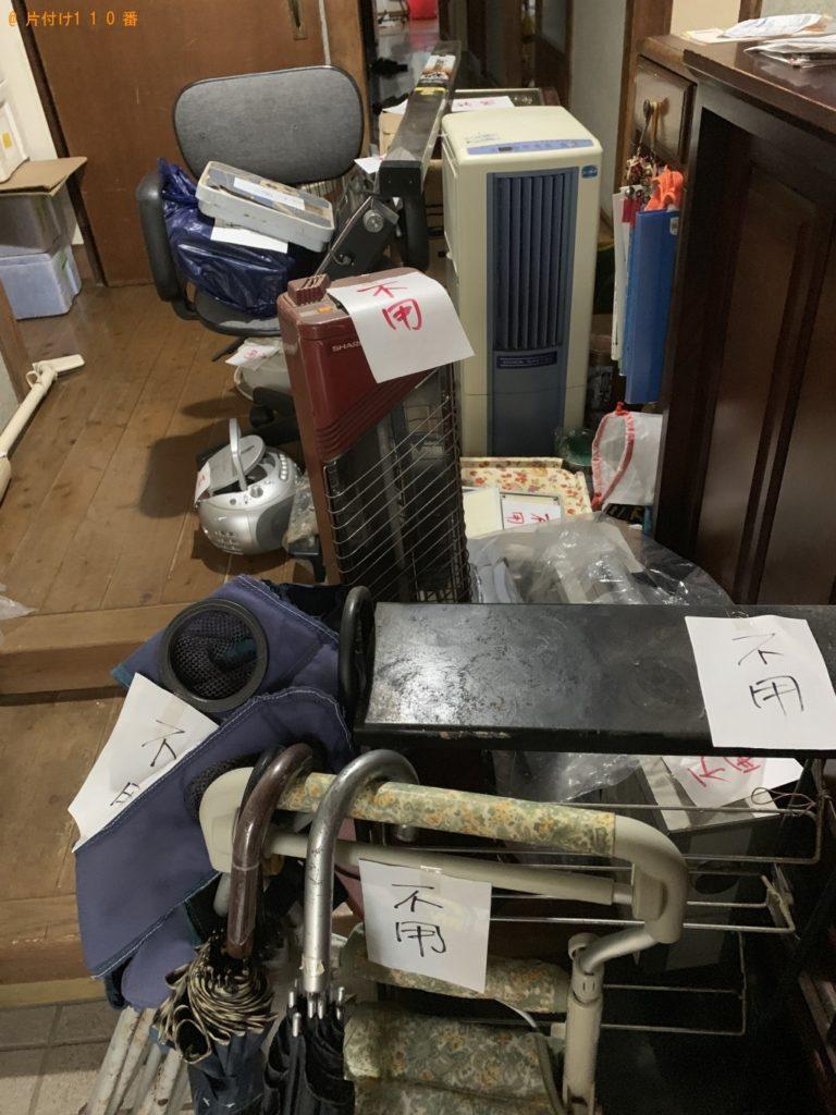 【北九州市門司区】衣類脱水機、掃除機、加湿器等の回収・処分 お客様の声