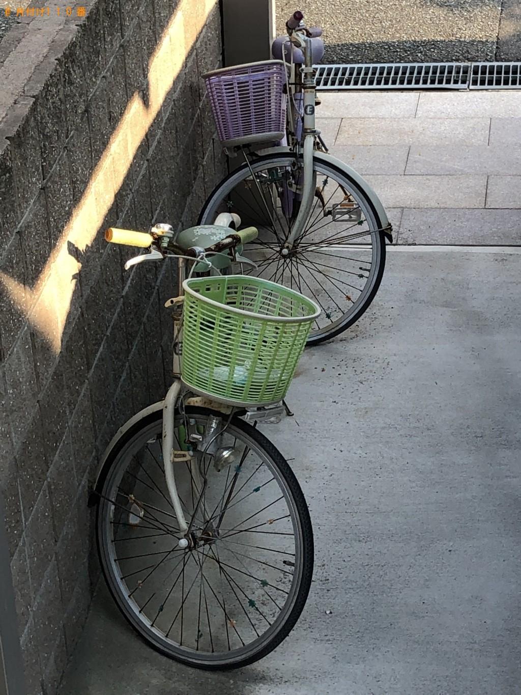 【北九州市八幡西区】カウンターテーブルと自転車回収 お客様の声