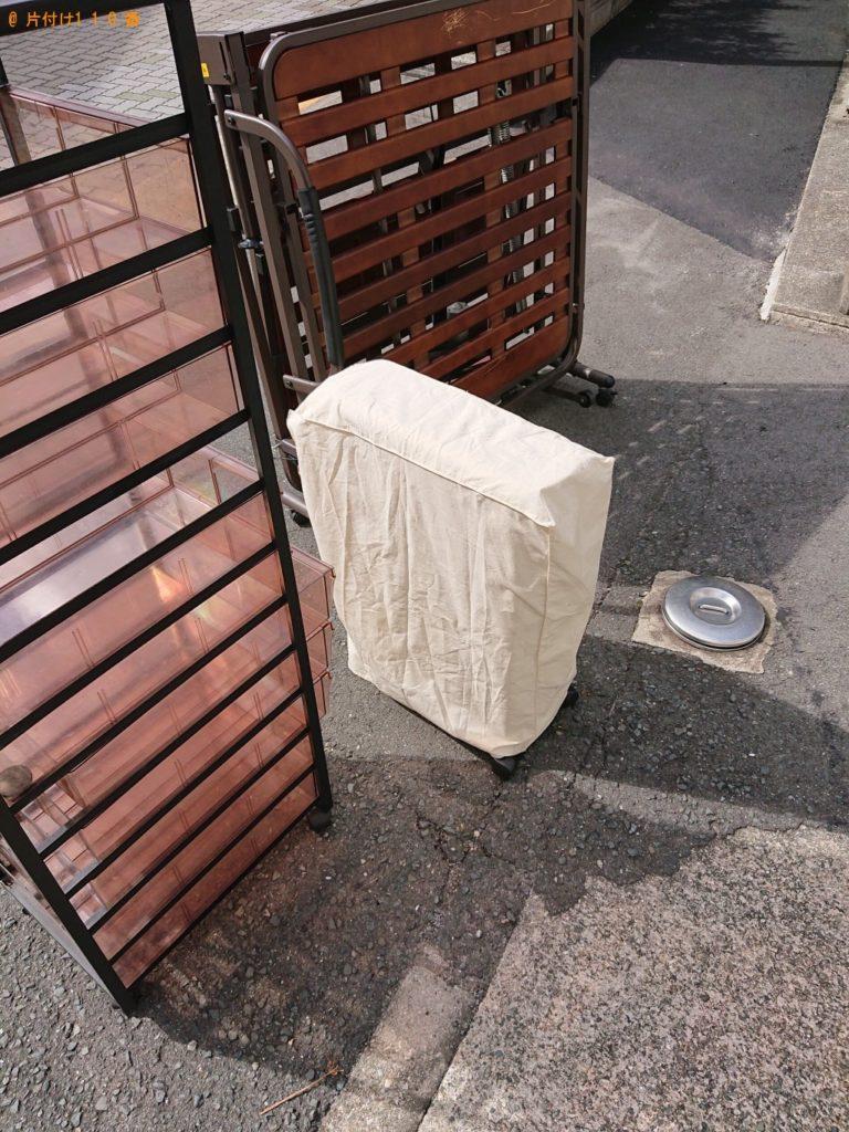 【伊丹市】折り畳みベッドなどの不用品回収・処分ご依頼