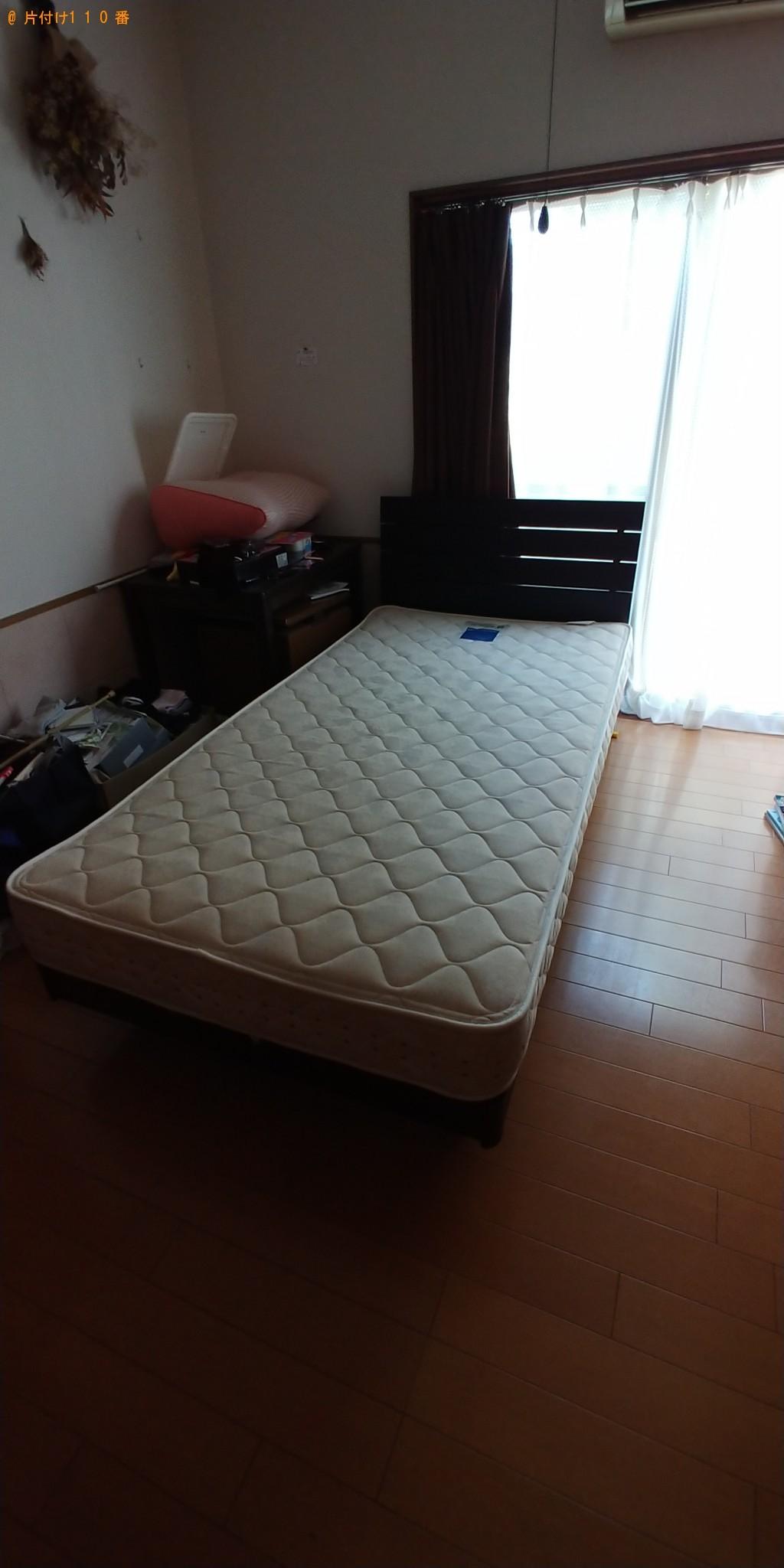 【小矢部市】シングルベッド1点の回収・処分 お客様の声