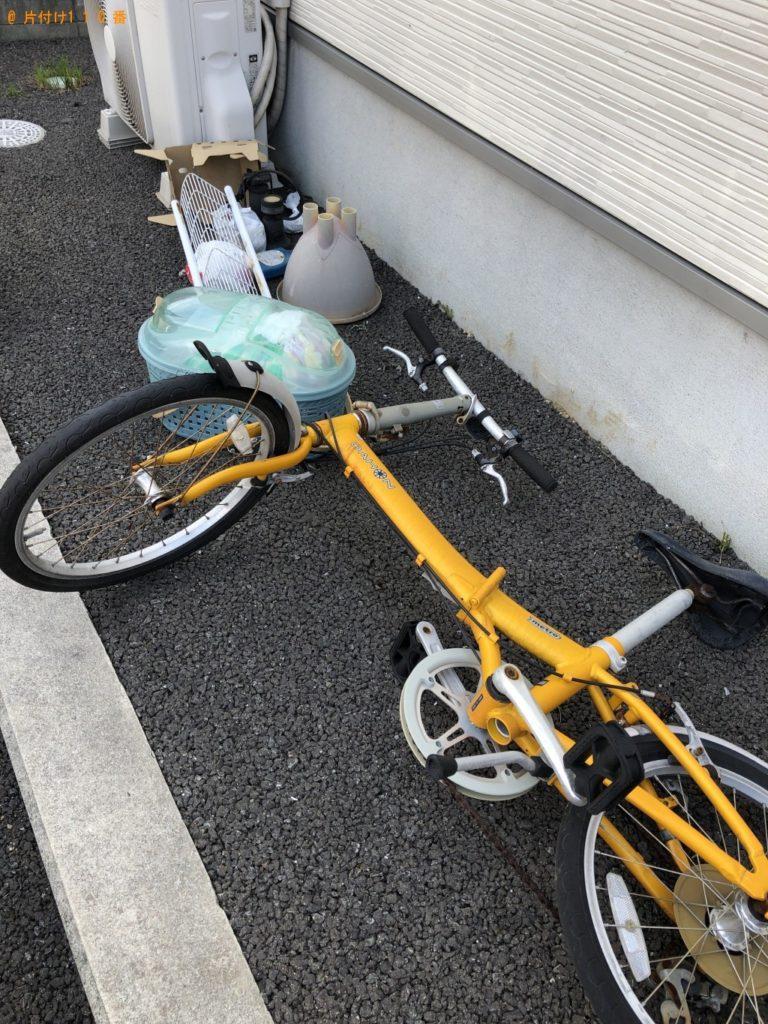 【北九州市八幡東区】折りたたみ自転車、シーリングライトの回収・処分 お客様の声
