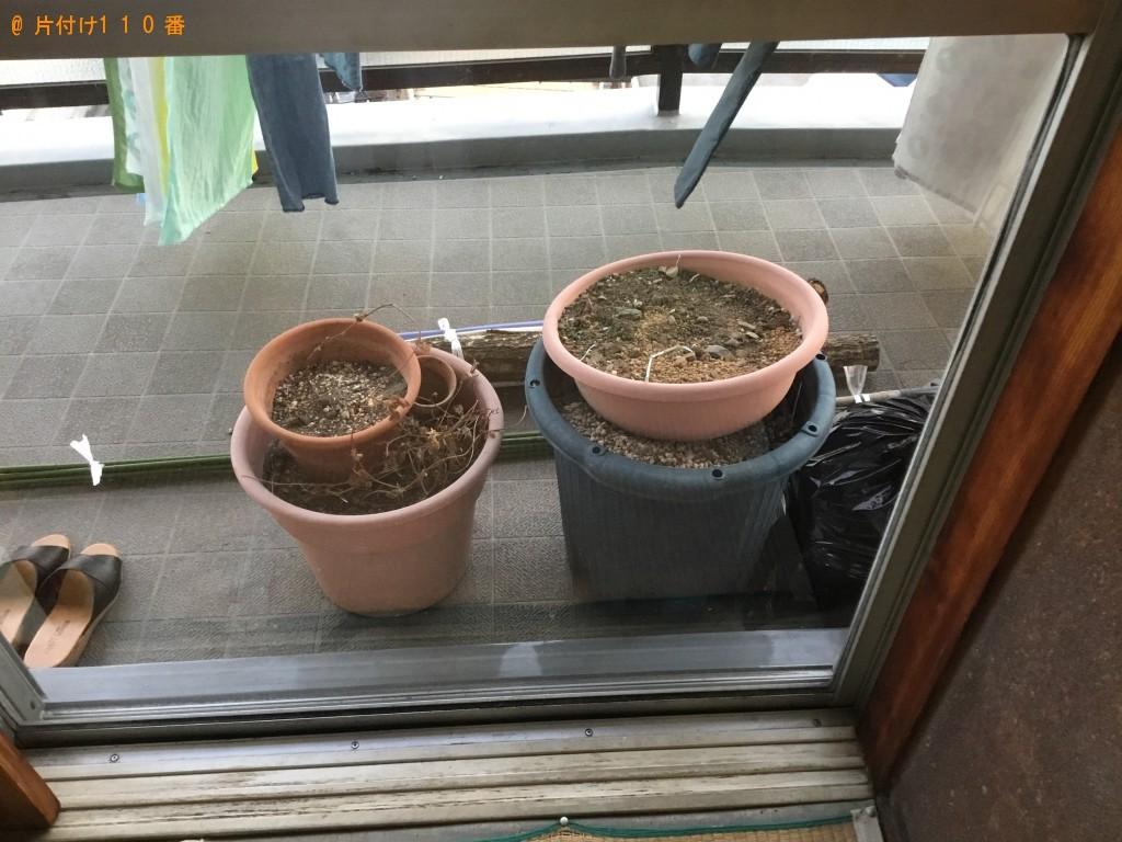 【西宮市久保町】家庭ごみ、残土、植木鉢の回収・処分 お客様の声