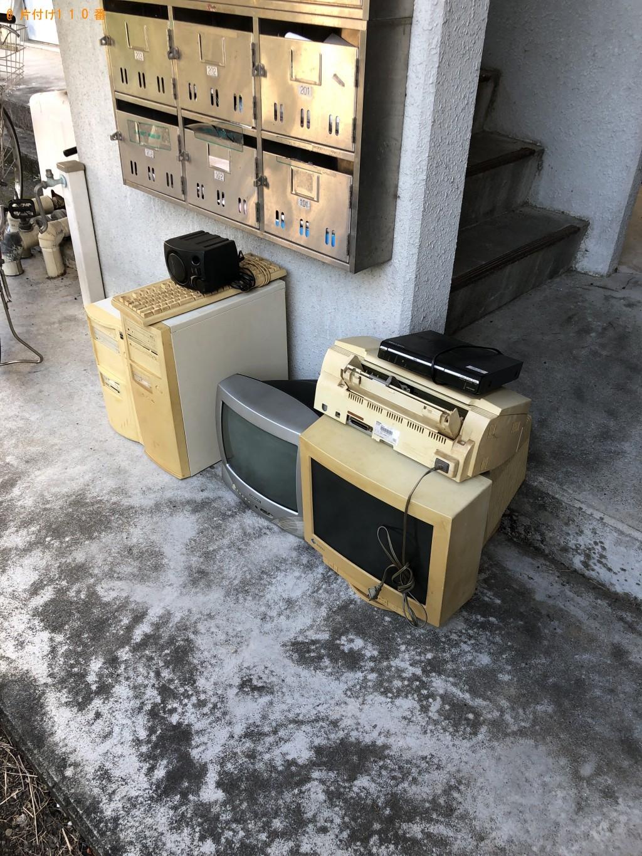 【静岡市清水区】テレビ、PC、PC周辺機器等の回収・処分 お客様の声