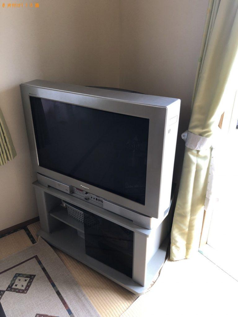 【大分市】テレビの回収・処分 お客様の声